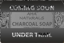 AHA NATURALS CHARCOAL SOAP