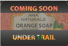 AHA NATURALS ORANGE SOAP