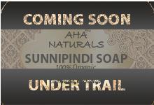 AHA NATURALS SUNNIPINDI SOAP